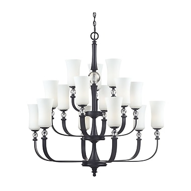 Z-Lite Harmony (604-15) 15 Light Chandelier, 39.5