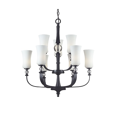 Z-Lite Harmony (604-9) 9 Light Chandelier, 30