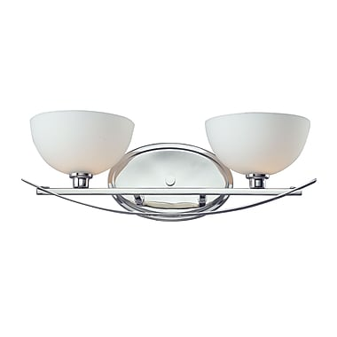 Z-Lite Ellipse (605-2V) 2 Light Vanity Light, 7.5