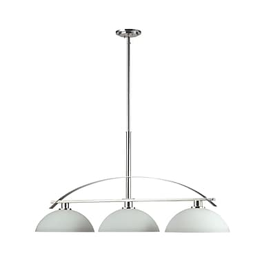 Z-Lite Ellipse (605-3) 3 Light Island/Billiard Light, 45