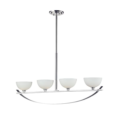 Z-Lite Ellipse (605-4) 4 Light Island Light, 37.5