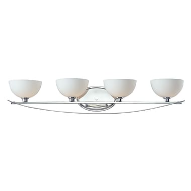 Z-Lite Ellipse (605-4V) 4 Light Vanity Light, 7.5