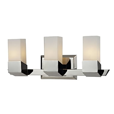 Z-Lite Zen (607-3V) 3 Light Vanity, 4.5