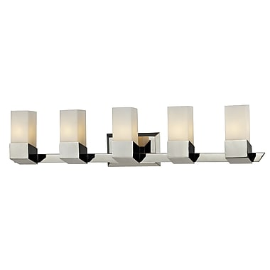 Z-Lite Zen (607-5V) 5 Light Vanity, 4.5
