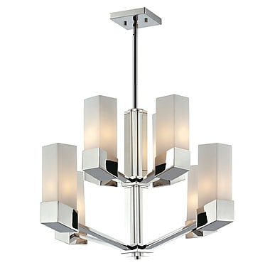 Z-Lite Zen (607-8) 8 Light Chandelier, 26