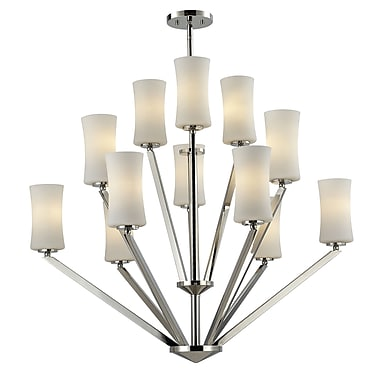 Z-Lite Elite (608-12-CH) 12 Light Chandelier, 36