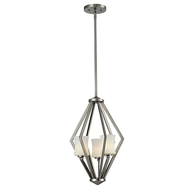 Z-Lite Elite (609-3-BN) 3 light foyer light, 12