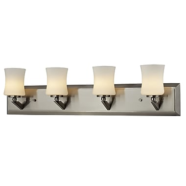 Z-Lite Elite (609-4V-BN) 4 Light Vanity, 4.5