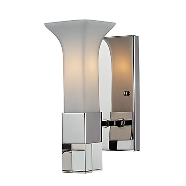 Z-Lite Lotus (611-1S-CH) 1 Light Wall Sconce, 5.25