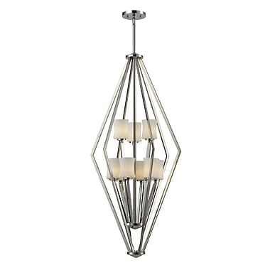 Z-Lite Lotus (608-9-CH) 6 light foyer light, 16