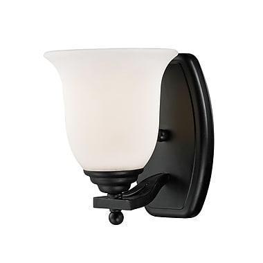 Z-Lite Lagoon (702-1V-BRZ) 1 Light Vanity Light, 7.5