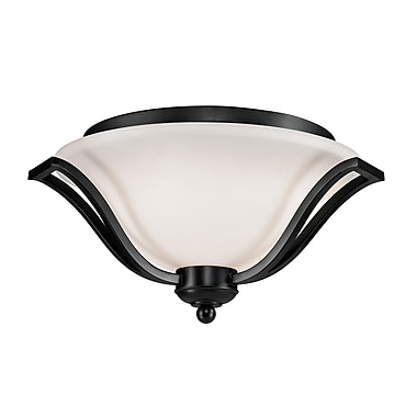 Z-Lite Lagoon (702F3-BRZ) 3 Light Ceiling, 18.5