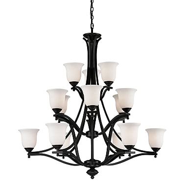 Z-Lite Lagoon (703-15-MB) 15 Light Chandelier, 42