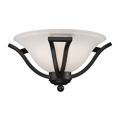 Z-Lite Lagoon (703-1S-MB) 1 Light Wall Sconce, 15