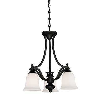 Z-Lite Lagoon (703-3-MB) 3 Light Chandelier, 20