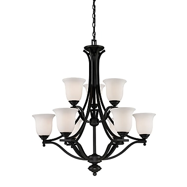 Z-Lite Lagoon (703-9-MB) 9 Light Chandelier, 31.75
