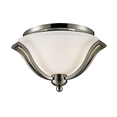 Z-Lite Lagoon (704F2-BN) 2 Light Ceiling, 15