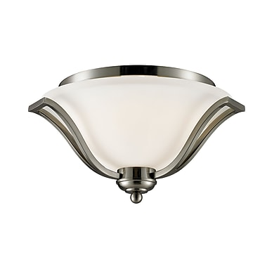 Z-Lite Lagoon (704F3-BN) 3 Light Ceiling, 18.5