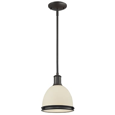 Z-Lite Mason 712MP-BRZ, 1 Light Mini Pendant, 8