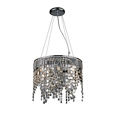 Z-Lite Nyssa (860CH) 8 Light Crystal Chandelier, 17.72