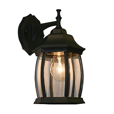 Z-Lite Waterdown (T20-BK) 1 Light Outdoor Wall Light, 7.5