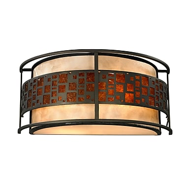 Z-Lite Milan Z14-50WS, 2 Light Wall Sconce, 6