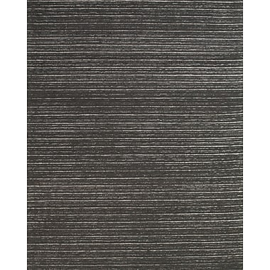 Feizy® Morisco Wool Pile Area Rug, Graphite, 8' x 11'