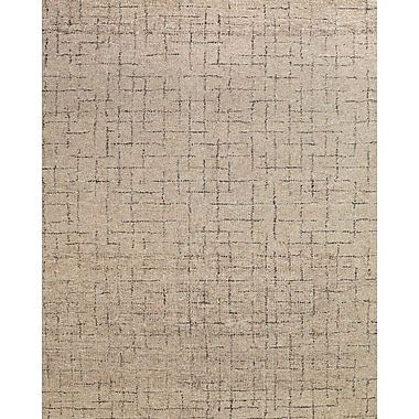 Feizy® Morisco Wool Pile Area Rug, Mushroom, 8' x 11'