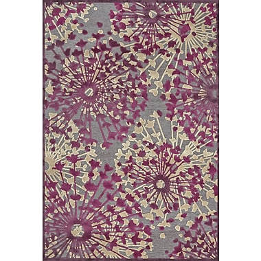 Feizy® Saphir Rubus Pewter/Light Silver Art Silk Pile Area Rugs