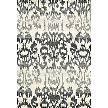 Feizy® Sorel Charcoal Polyproplylene Fiber Pile Area Rugs