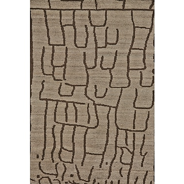 Feizy® Barbary Wool Pile Area Rug, Natural/Charcoal, 5' 6