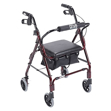 Drive Medical - Rollator Mimi Lite, rouge flamme