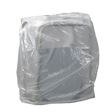 Mason Medical Clear Plastic Transport Storage Covers, Commode Cover