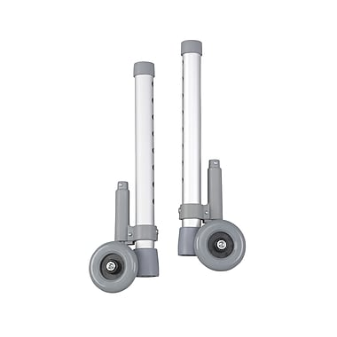Drive Medical Rear Glide Walker Brakes, With 3