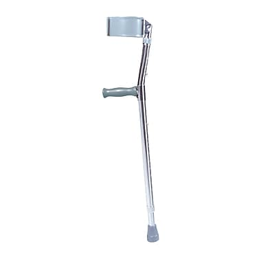 Drive Medical Lightweight Walking Forearm Crutches, Tall Adult