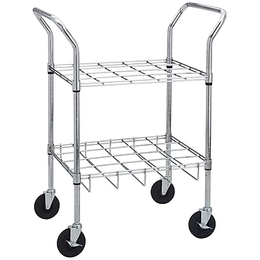Drive Medical Oxygen Cylinder Cart, Holds 20 Cylinders