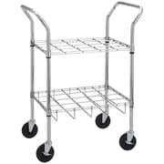 Drive Medical Oxygen Cylinder Cart, Holds 12 Cylinders