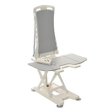 Drive Medical Bellavita Auto Bath Tub Chair Seat Lift, Grey
