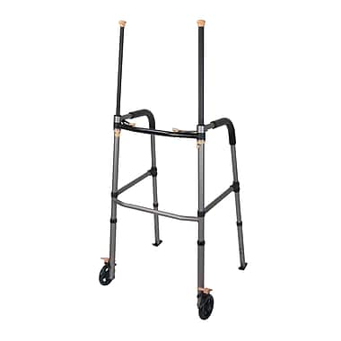 Drive Medical Lift Walker with Retractable Stand Assist Bars
