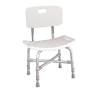 Drive Medical Bariatric Heavy Duty Bath Bench, With Backrest