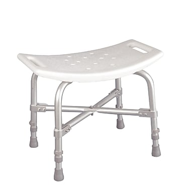 Drive Medical Bariatric Heavy Duty Bath Bench, Without Backrest