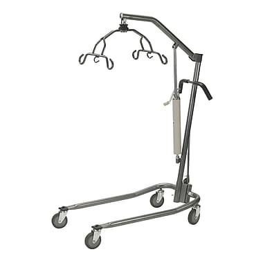 Drive Medical Hydraulic Patient Lift with Six Point Cradle, Silver Vein