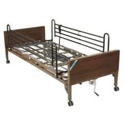 Drive Medical Delta Ultra Light Semi Electric Bed, Full Rails