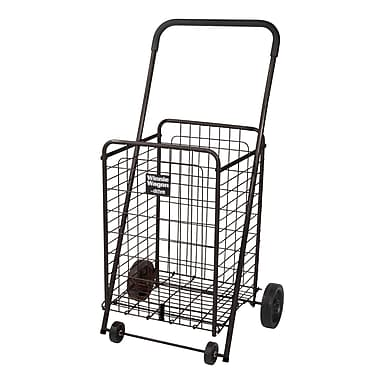 Drive Medical Winnie Wagon All Purpose Shopping Utility Cart, Black