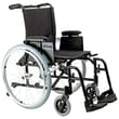 """Drive Medical Cougar Ultra Lightweight Rehab Wheelchair, Swing away Footrest, 18"""" Seat"""
