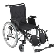 "Drive Medical Cougar Ultra Lightweight Rehab Wheelchair, Elevating Leg rest, 18"" Seat"