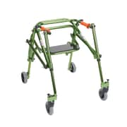 Wenzelite Nimbo Rehab Lightweight Posterior Posture Walker with Seat, Lime Green, Junior