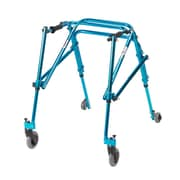 Wenzelite Nimbo Rehab Lightweight Posterior Posture Walker, Cornflower Blue, Youth