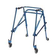 Wenzelite Nimbo Rehab Lightweight Posterior Posture Walker, Midnight Blue, Young Adult
