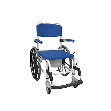 Drive Medical Aluminum Shower Commode Mobile Chair